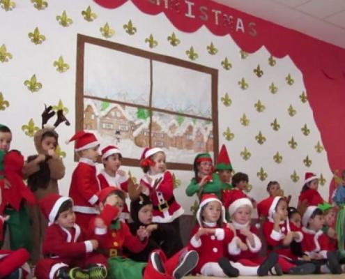 Fiesta de Navidad de Educación Infantil y Primaria