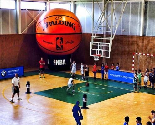 Jornada de exhibición del JrNBA Gigantes Camp