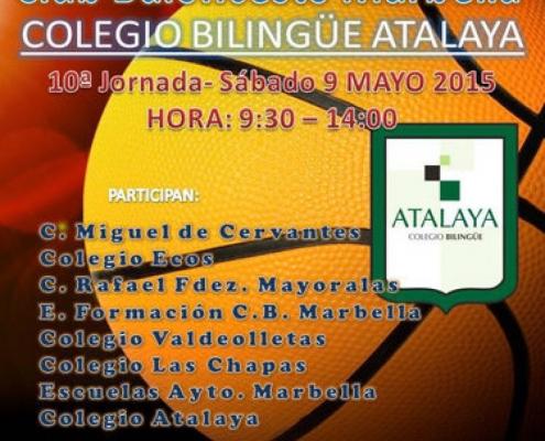 Liga escolar de Baloncesto - 10ª Jornada