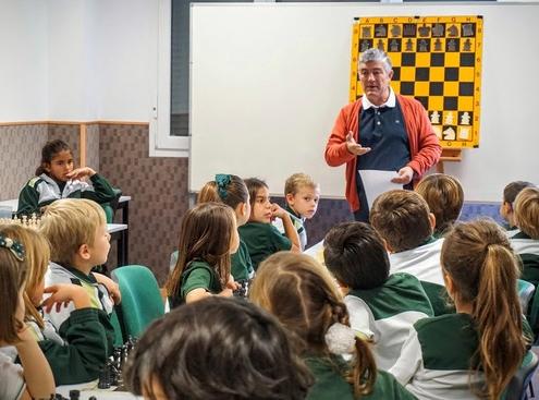 Curso de ajedrez, 2º de Educación Primaria