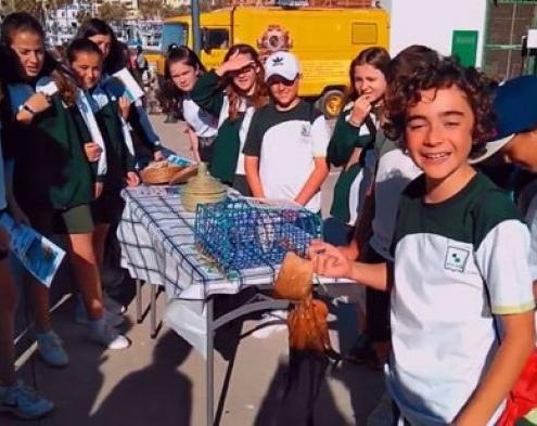 [Educación Primaria] Los alumnos de 6º visitaron el Puerto Pesquero de Estepona