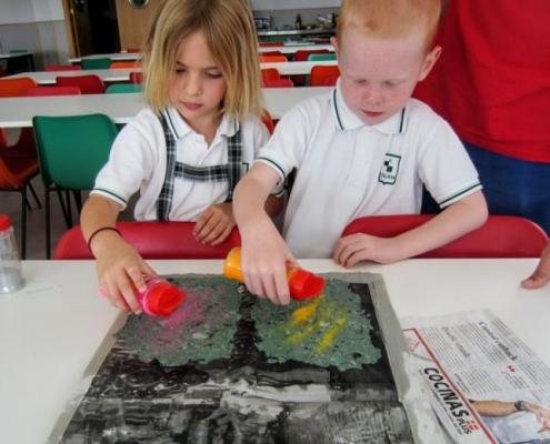 [Educación Infantil] EI6 Taller de reciclaje de papel