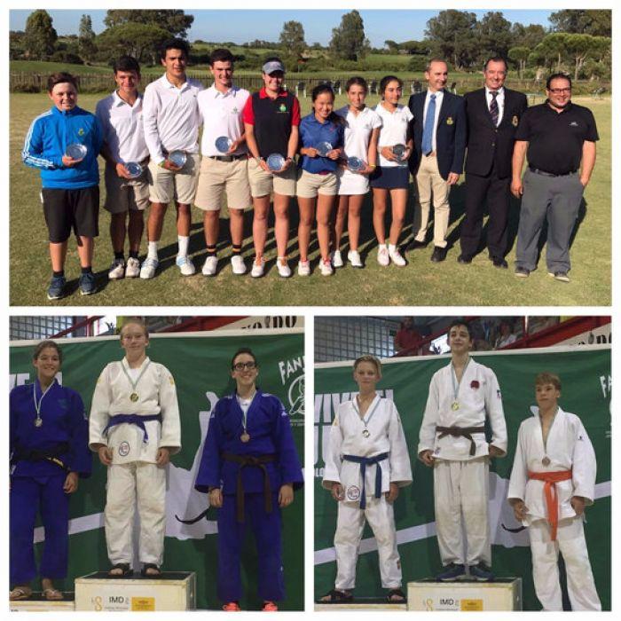 Nuevos éxitos deportivos de nuestros alumnos y alumnas