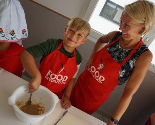 Food Revolution con padres y madres de Educación Primaria