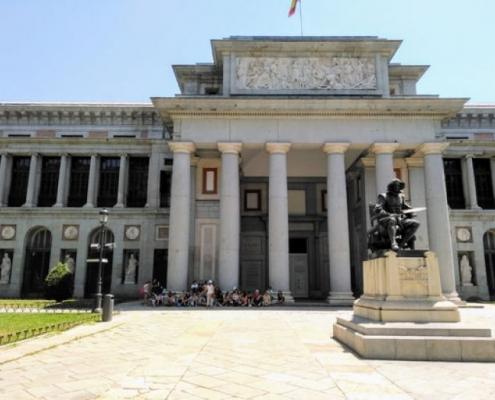 [Cuaderno de viajes] Madrid recibió con calor a los alumnos y alumnas de 2º de ESO
