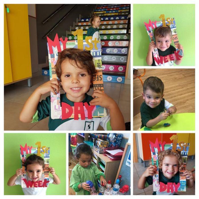 Los primeros días en Educación Infantil...