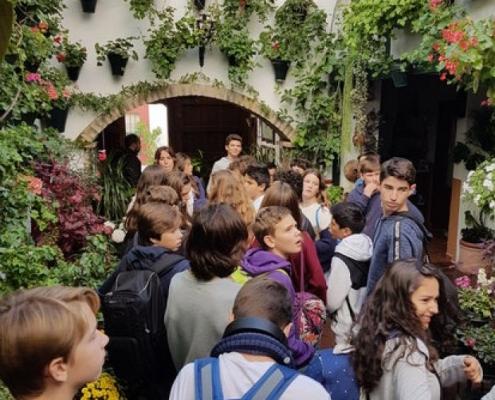 Viaje a Córdoba alumnos de 2ª ESO