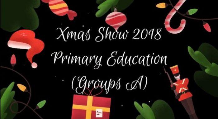 Vídeo Christmas Show Educación Primaria (A y B)