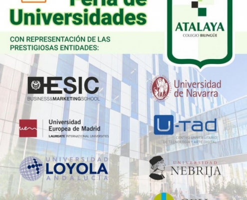 Celebramos la 2ª Feria de Universidades el próximo 1 de febrero