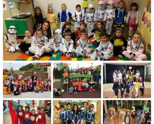 Educación Infantil celebrando el Carnaval