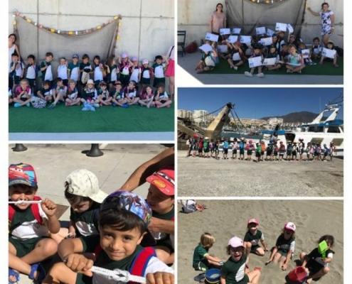 4 años - Visita al Puerto Pesquero