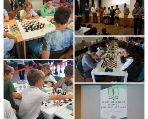 II Torneo Interescolar de Ajedrez Colegio Atalaya