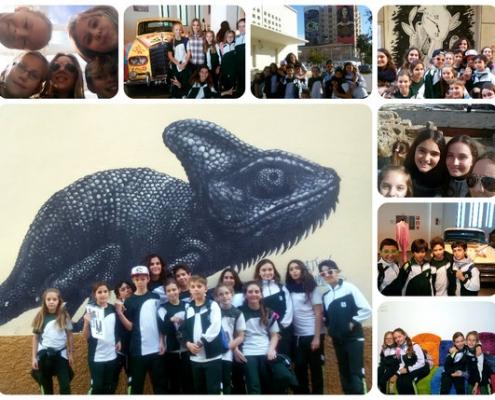 Excursión a Málaga con 6º de Primaria