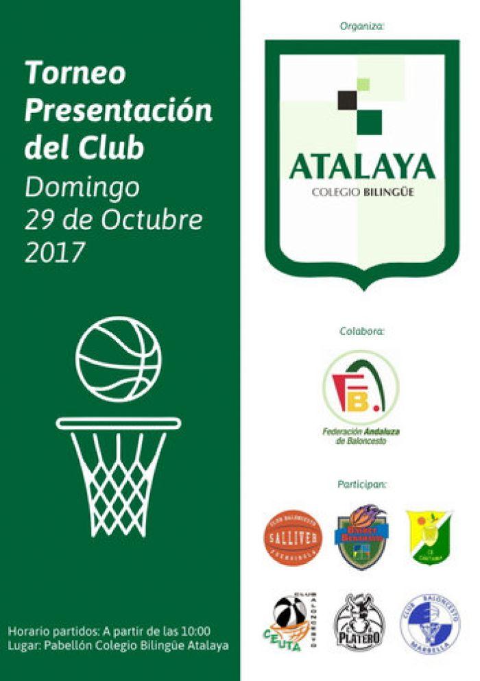 Torneo de Presentación CDC Atalaya Temporada 2017-2018